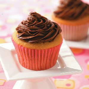 Peanut Butter Cupcakes with Creamy Chocolate Frosting Recipe