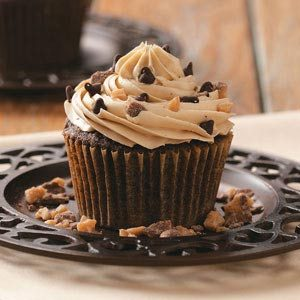 Toffee Mocha Cupcakes Recipe