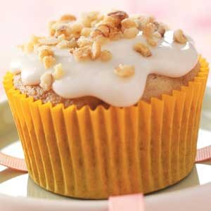 Walnut Banana Cupcakes Recipe