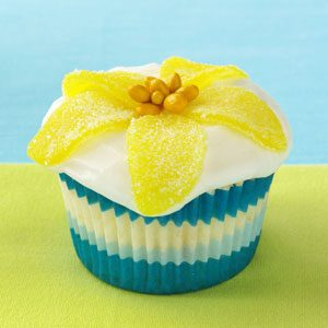 Lemon Curd Cupcakes Recipe