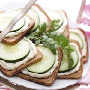 Savory Cucumber Sandwiches Recipe