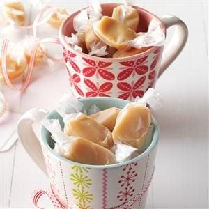 Soft 'n' Chewy Caramels Recipe