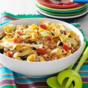 Crowd-Pleasing Taco Salad Recipe