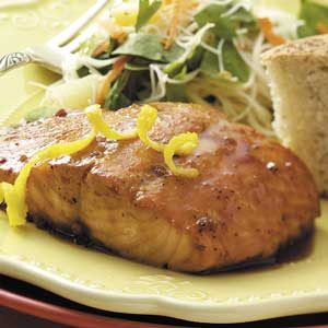 Double K Grilled Salmon Recipe