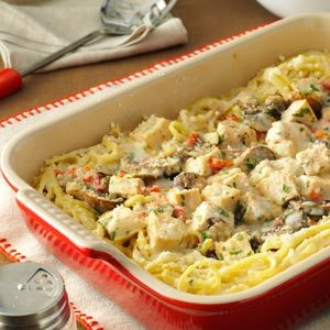 Creamy Turkey Tetrazzini Recipe