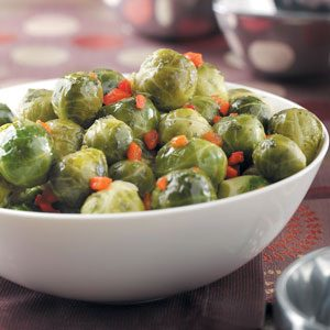Pimiento Brussels Sprouts Recipe