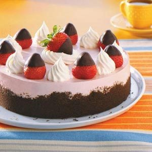 Chocolate-Dipped Strawberry Cheesecake Recipe