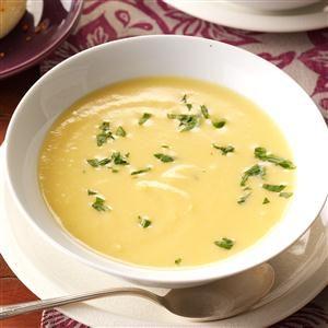 Cream of Butternut Squash Soup Recipe