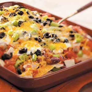 Corn Tortilla Chicken Lasagna Recipe