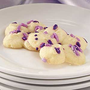 Spritz Butter Blossoms Recipe