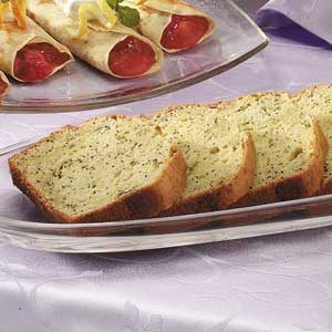 Lemony Zucchini Bread Recipe