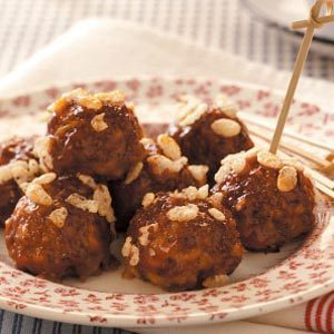 Barbecue Sauce Meatballs Recipe