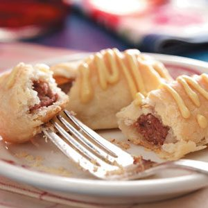 Pigs in a Blanket with Homemade Pastry Dough