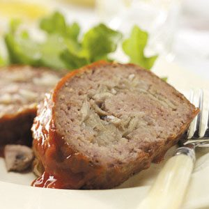 Grilled Stuffed Meat Loaf Recipe