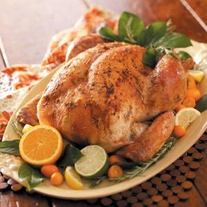 Citrus-Rosemary Rubbed Turkey