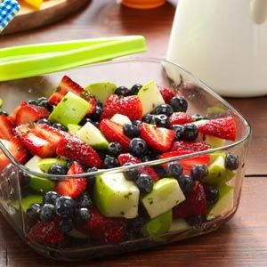 Honey-Lime Berry Salad Recipe
