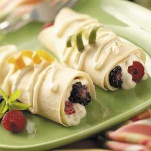 Breakfast Crepes with Berries Recipe
