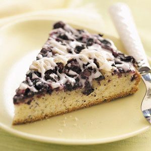 Blueberry-Poppy Seed Brunch Cake Recipe