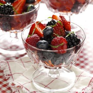 Special Summer Berry Medley Recipe