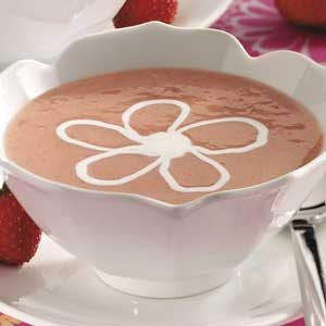 Strawberry Dessert Soup Recipe