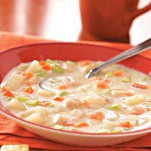 Cream of Turkey Vegetable Soup Recipe