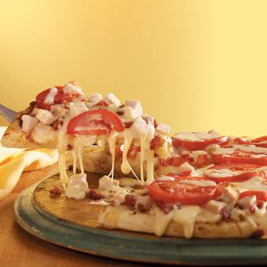 Turkey Club Pizza Recipe