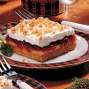 Cranberry Graham Squares Recipe