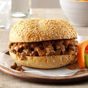 Tangy Barbecued Beef Sandwiches Recipe