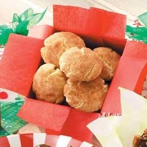 Cinnamon-Sugar Crackle Cookies Recipe