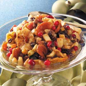 Spiced Mixed Fruit Recipe