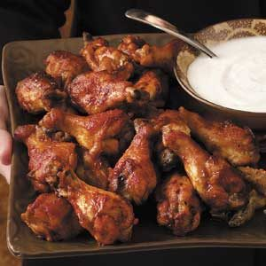Taco-Flavored Chicken Wings Recipe