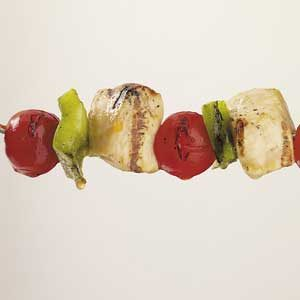 Vegetable Chicken Kabobs Recipe