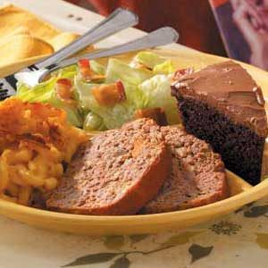 Vegetable Soup Meat Loaf Recipe