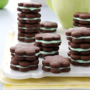 Chocolate Mint Wafers Recipe