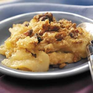 Granola-Topped Pear Crisp Recipe
