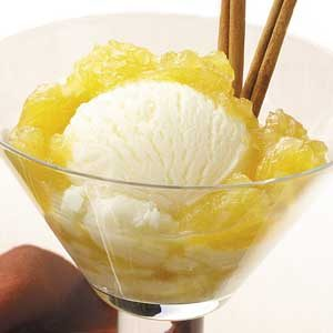 Pineapple Ice Cream Topping Recipe
