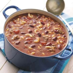 Beefy Bean Soup Recipe