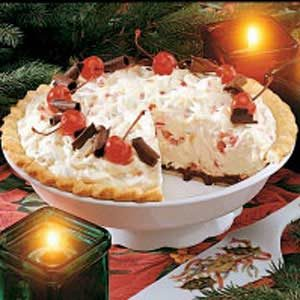 Cherry Almond Mousse Pie Recipe