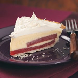 Cranberry Ice Cream Pie Recipe