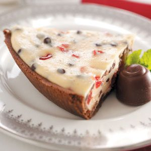 Chocolate Chip Cherry Cheesecake Recipe
