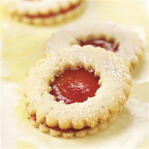 Strawberry Tea Cookies Recipe