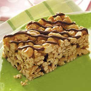 Caramel Cereal Treats Recipe