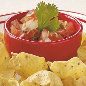 Fresh Tomato Mexican Salsa Recipe