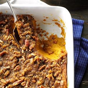 Sweet Potato Casserole with Pecans Recipe