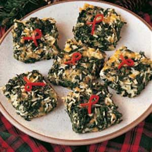 Herbed Spinach Bake Recipe