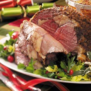 Herbed Standing Rib Roast Recipe