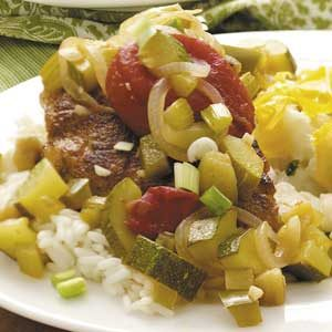Cajun Chicken and Vegetables Recipe