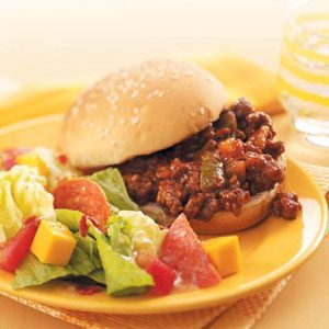Slow-Cooked Sloppy Joes Recipe