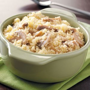Couscous with Mushrooms Recipe