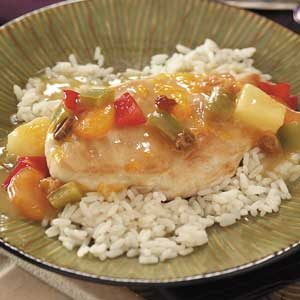 Tropical Mandarin Chicken Recipe